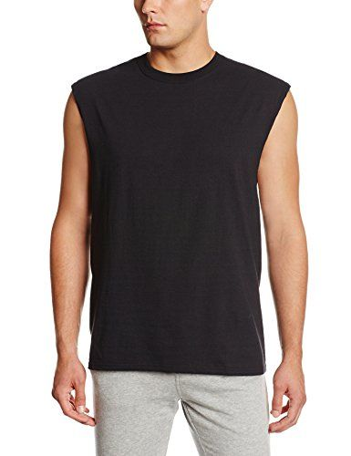 e7d9976424de8 Russell Athletic Men s Cotton Muscle Shirt. The russell athletic sleeveless  tee options a perfect fit. The cozy