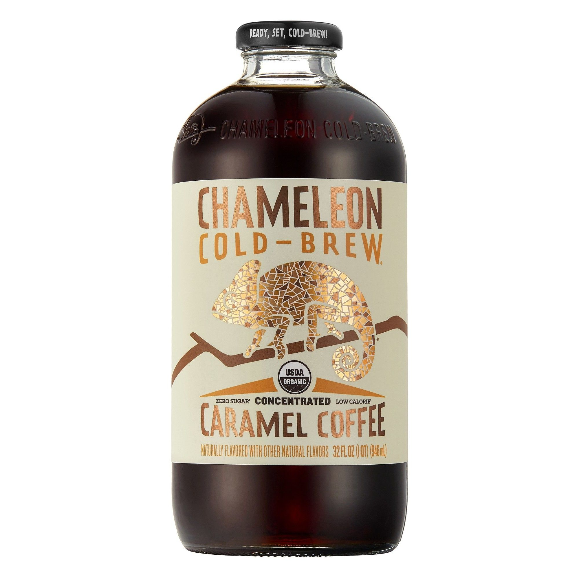 Chameleon Cold Brew Caramel Coffee Concentrate 1qt In 2020 Cold Brew Coffee Concentrate Caramel Coffee