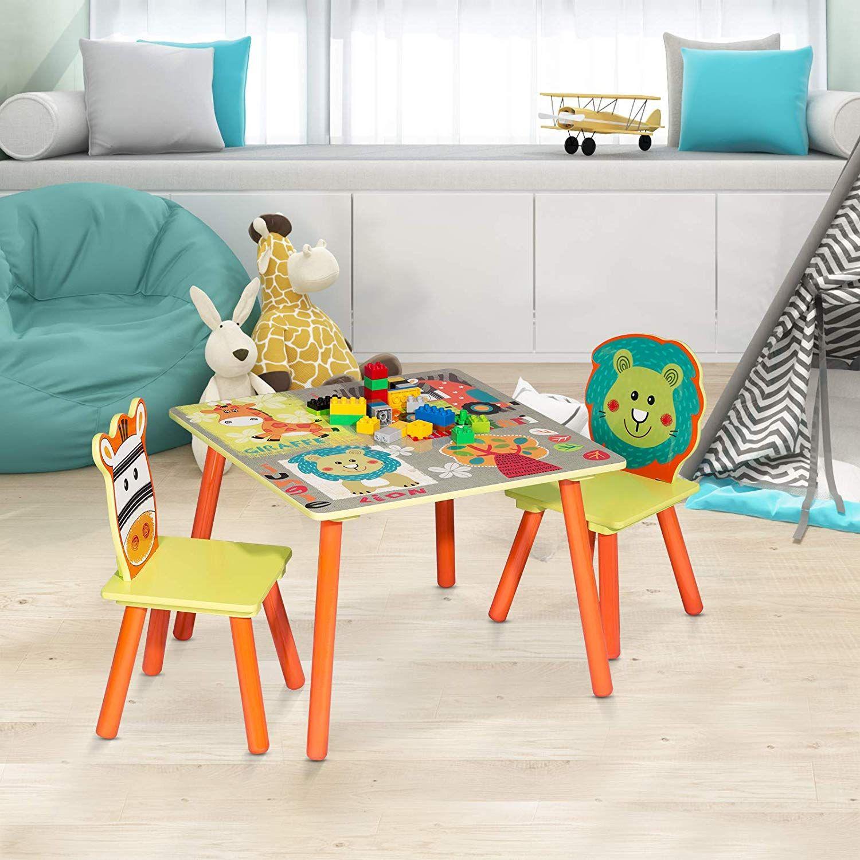 Kinder Sitzgruppe Tisch Stuhlsets Kindertisch Mit 2 Stuhle Sitzgruppe Fur Kinder Kindermobel