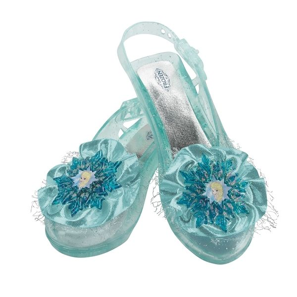 f53fd074910 Girl s Disney s  Frozen  Blue Elsa Flats Halloween Costumes For Kids
