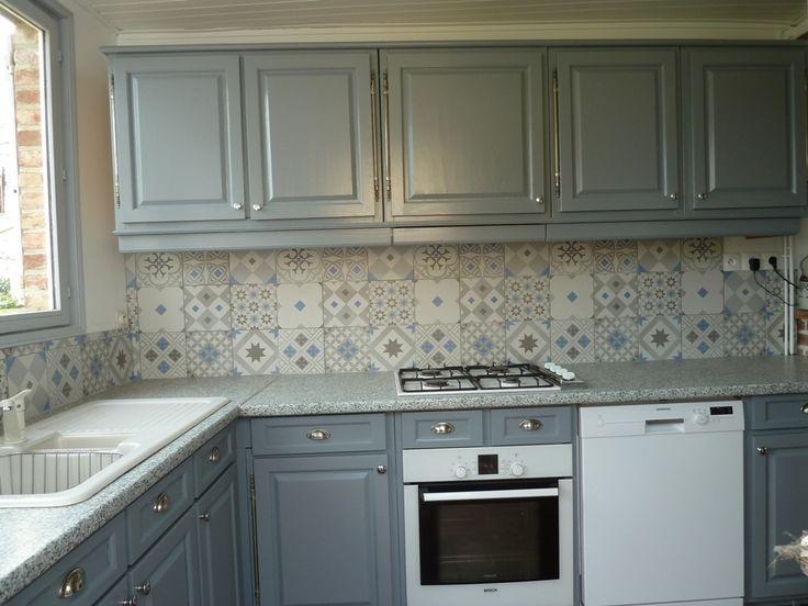 Résultat De Recherche Dimages Pour Cuisine Carreau De Ciment - Carreau de ciment mural cuisine pour idees de deco de cuisine
