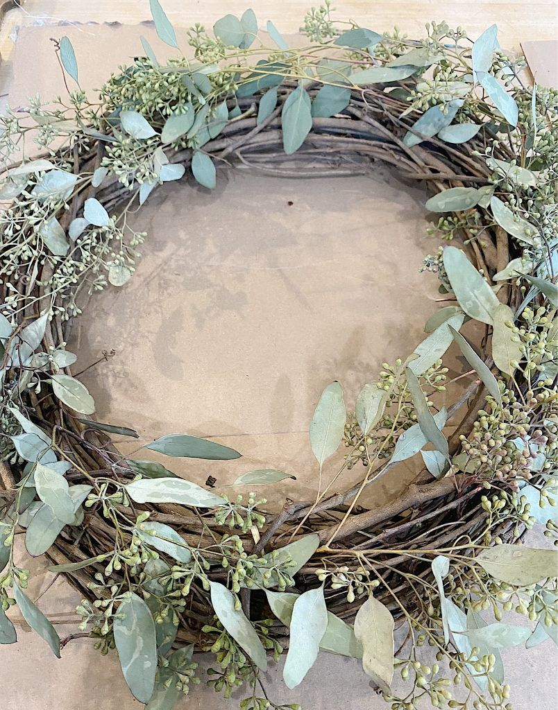 Photo of How to Make a Spring Wreath – MY 100 YEAR OLD HOME