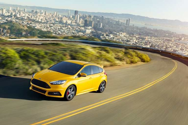 Find confidence in the turns in a Focus ST with Torque Vectoring Control