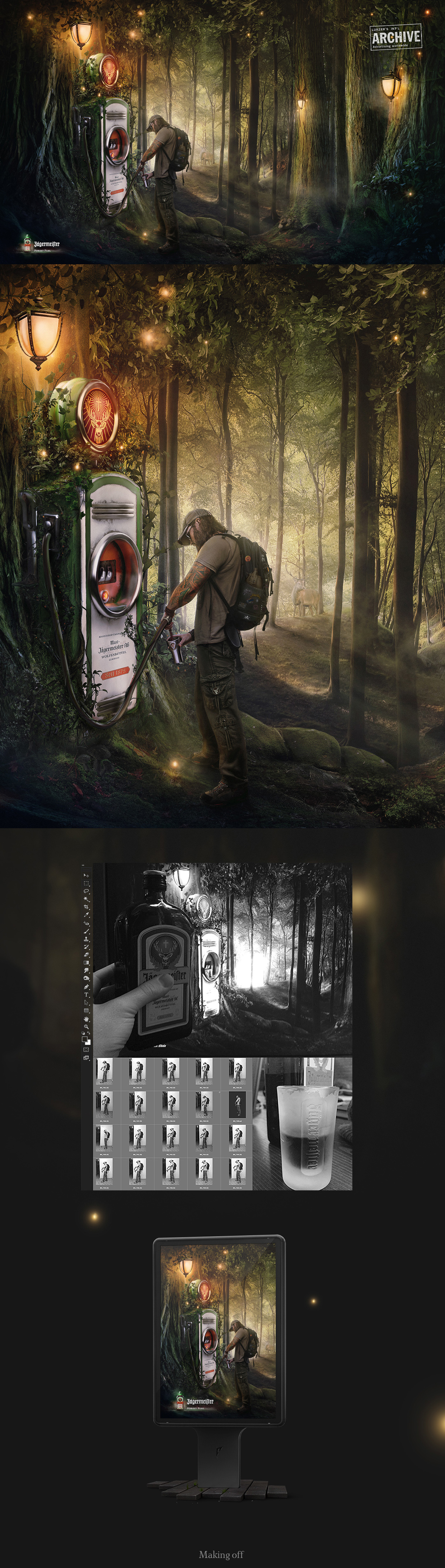 Jagermeister | Forest fuel | concept on Behance