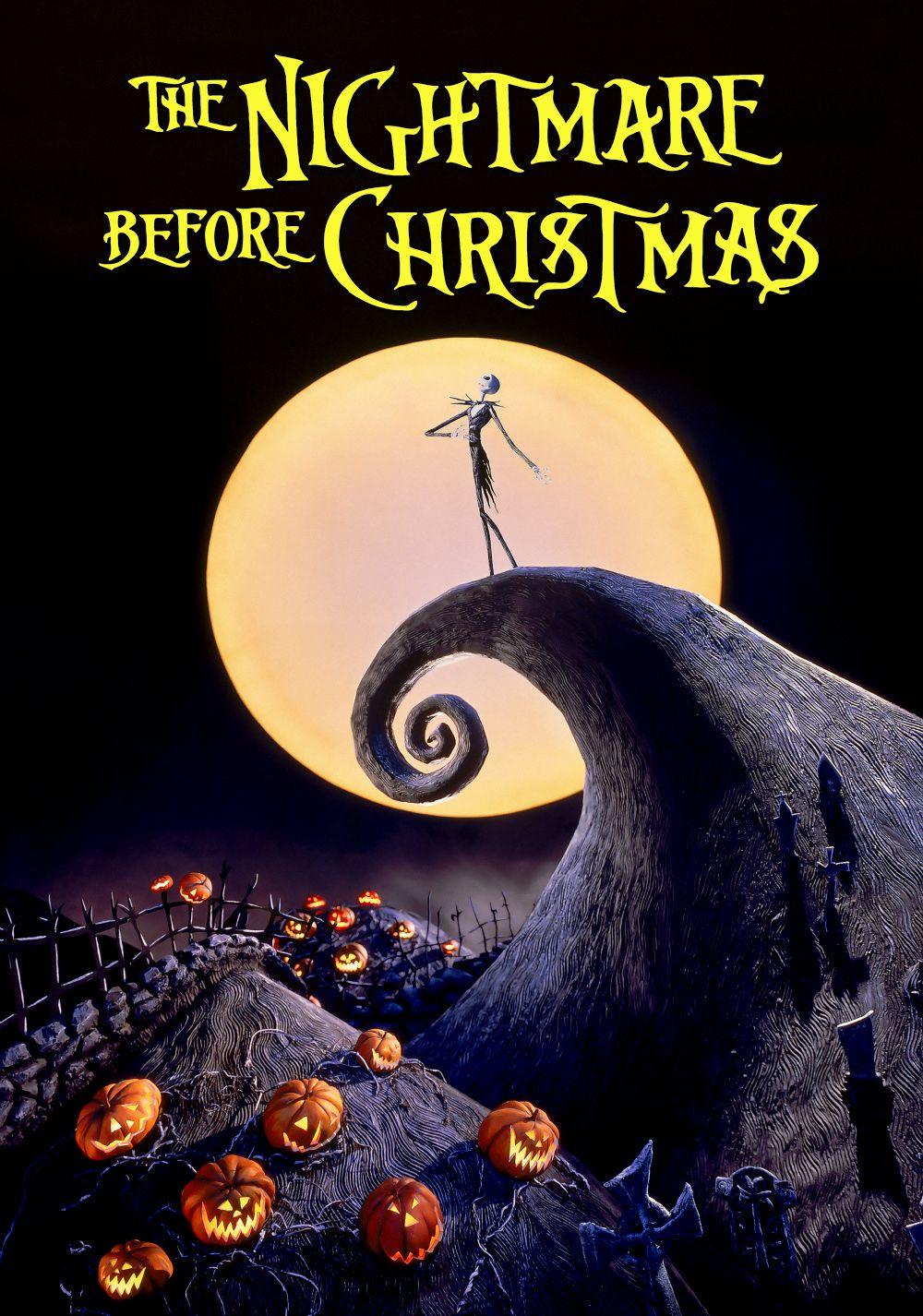 Resultado de imagem para nightmare before christmas poster