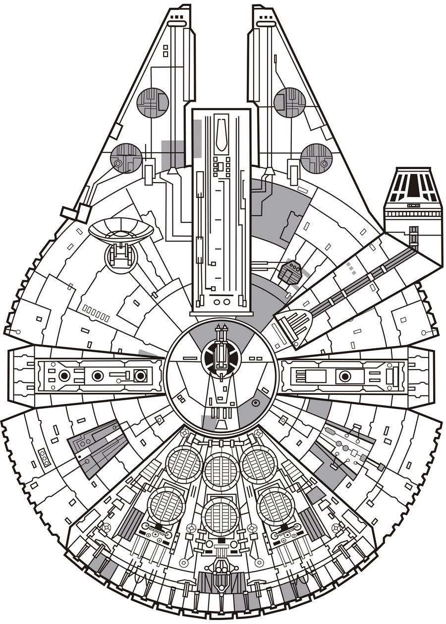 Millennium Falcon By Jorgecopo On Deviantart Star Wars Tattoo Star Wars Poster Millennium Falcon Lego