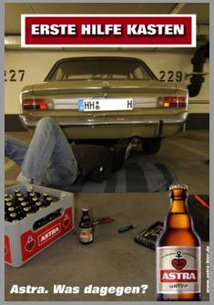 Astra Urtyp Erste Hilfe Kasten Was Dagegen Bier