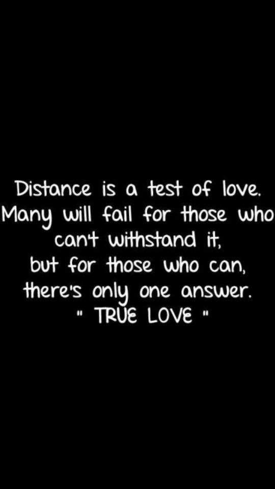 Sweet long quotes distance √ Sweet