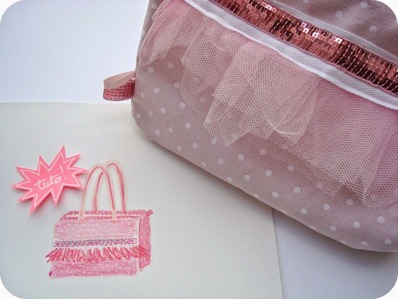 Diy tuto sac de danse tutu pour petites filles par for Malette couture pour fille