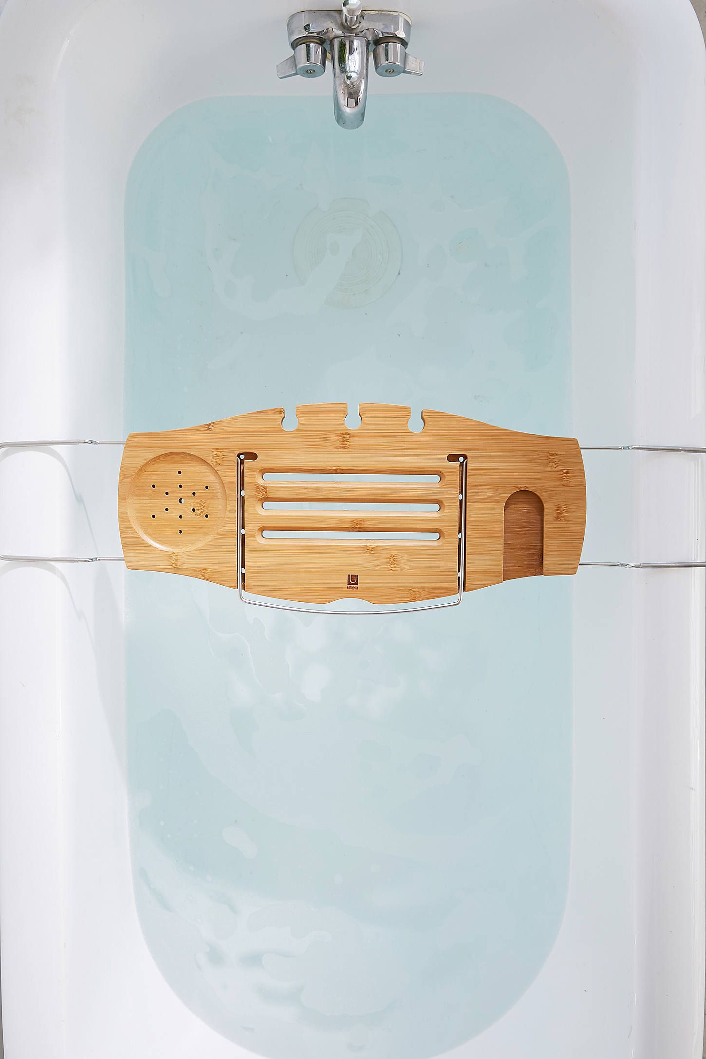 Me Time Bamboo Bath Tray Caddy | Pacifica Home Furniture | Pinterest ...