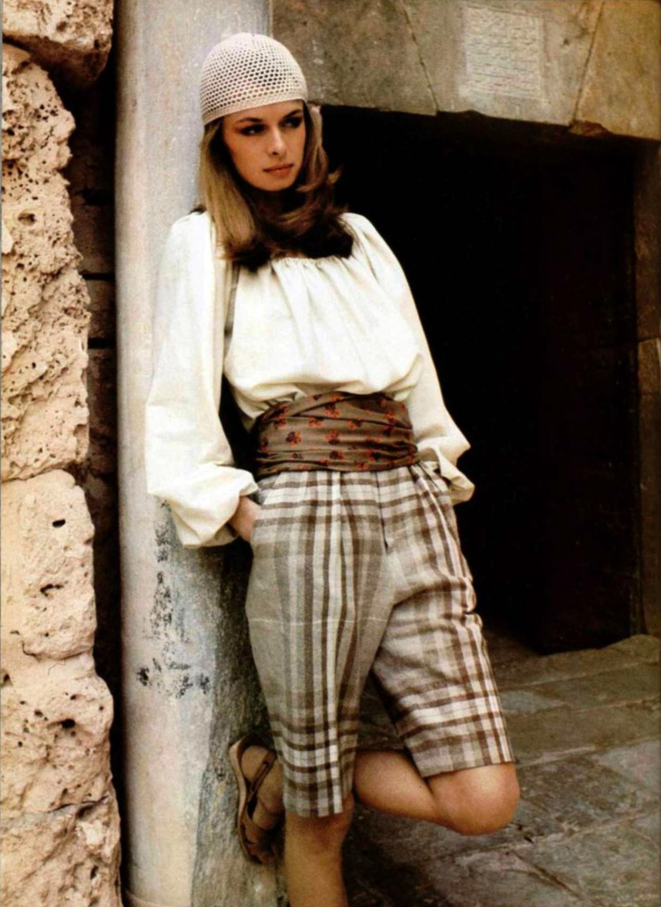 Lanvin Boutique L'Officiel magazine 1979