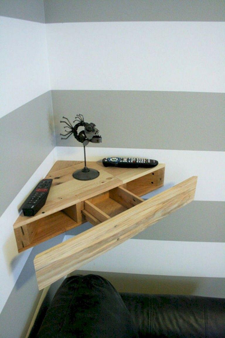70+ smart diy corner shelves ideas to decorating your awkward corner | floating corner shelves