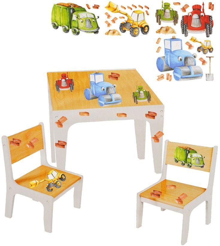 3 tlg. Set Sitzgruppe / Sitzgarnitur für Kinder sehr