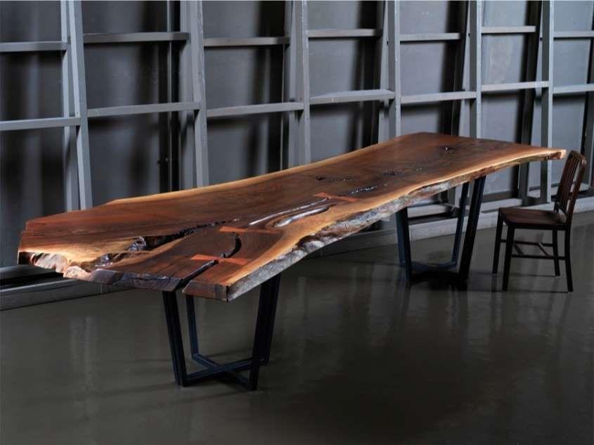Tavoli in legno grezzo - Tavolo XL Cargo Milano | Interiors