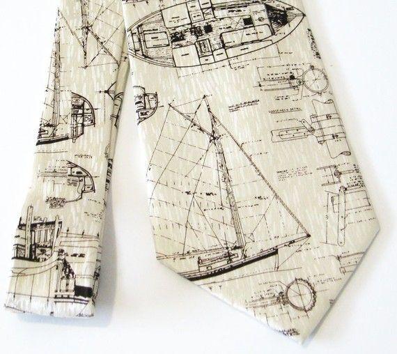 sailboat tie