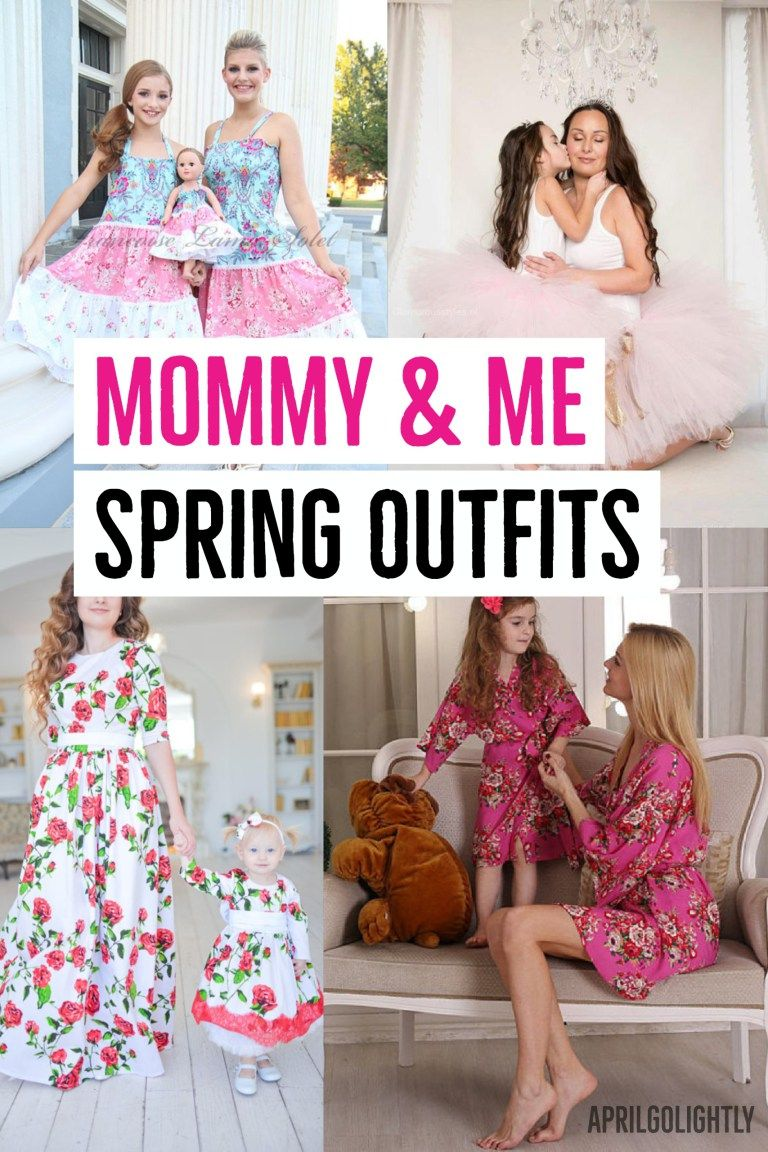 403198108964 Spring and summer Mommy and Me matching outfits that you and your little  are sure to adore! #MommyandMeOutfits #SpringFashion #SummerFashion # AprilGolightly