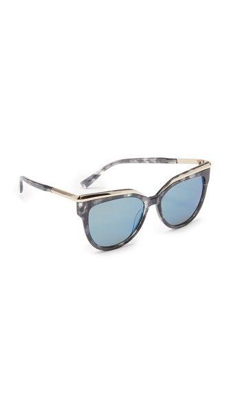 2f7f88238a4f MCM Metal Accent Sunglasses. #mcm #sunglasses   MCM   Gafas de sol ...