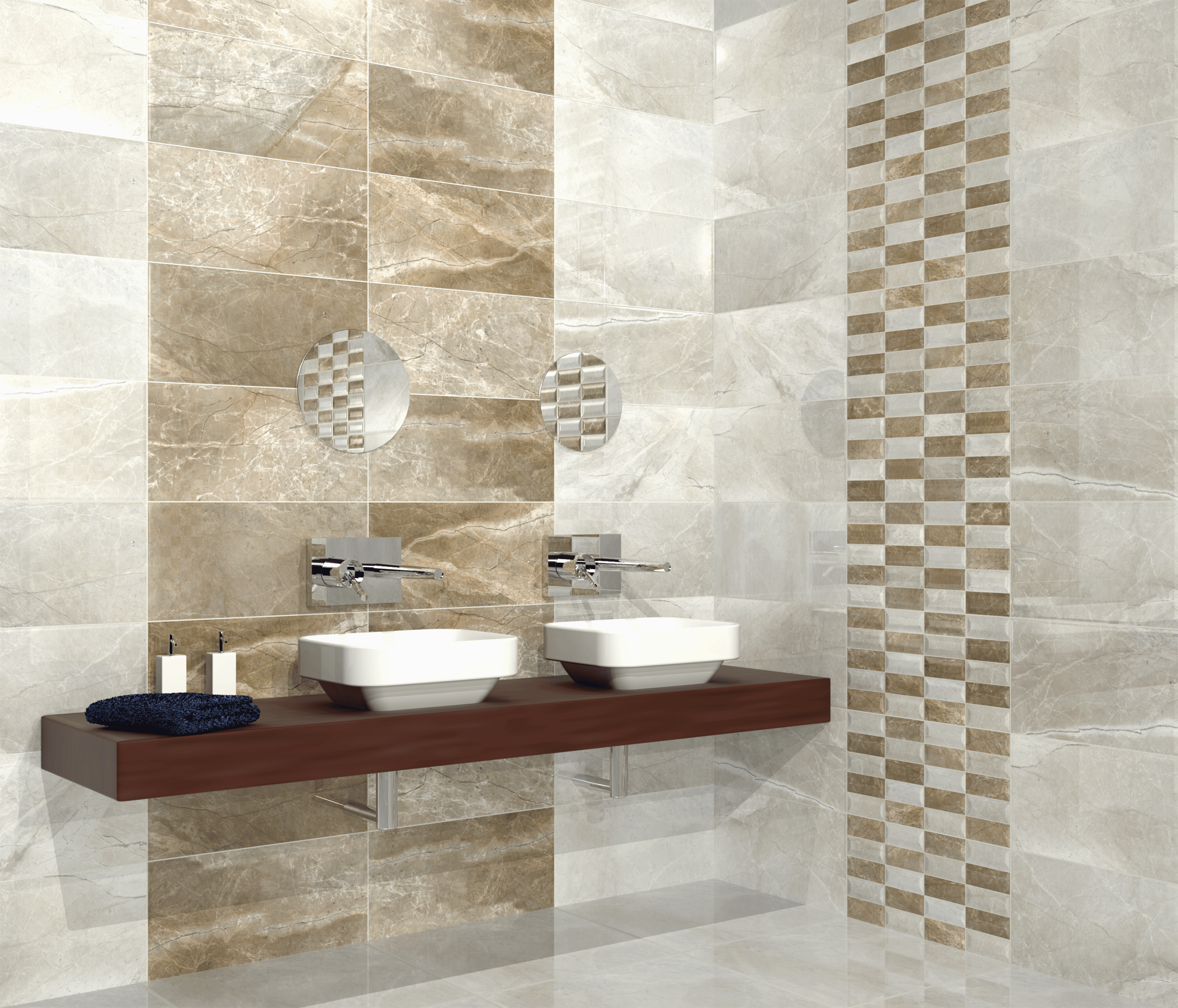 How To Tile A Bathroom Walls As Well As Shower Tub Area Tiles