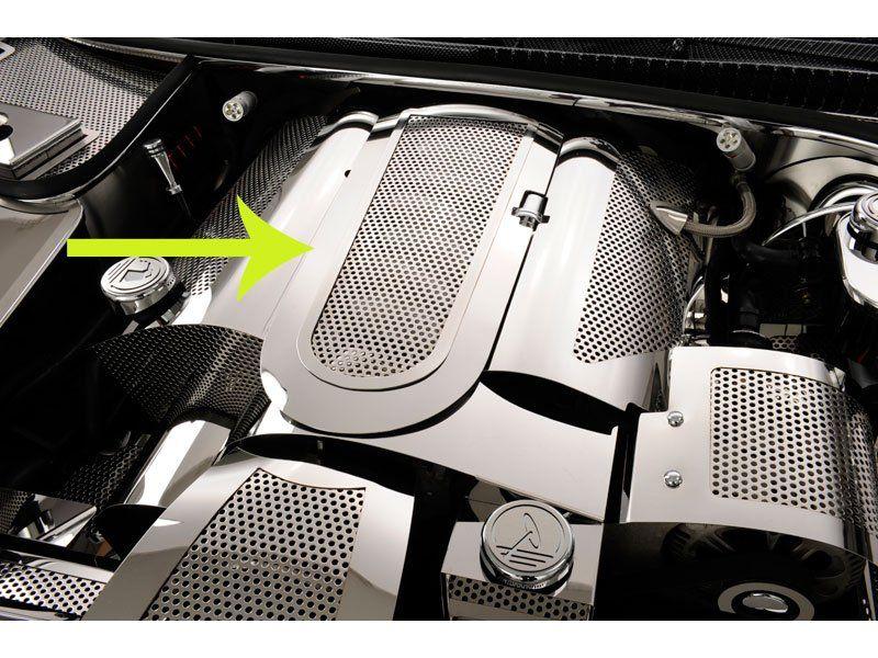 C5 1997 2004 Corvette Low Profile Perforated Plenum Cover Corvette 2004 Corvette Corvette Engine
