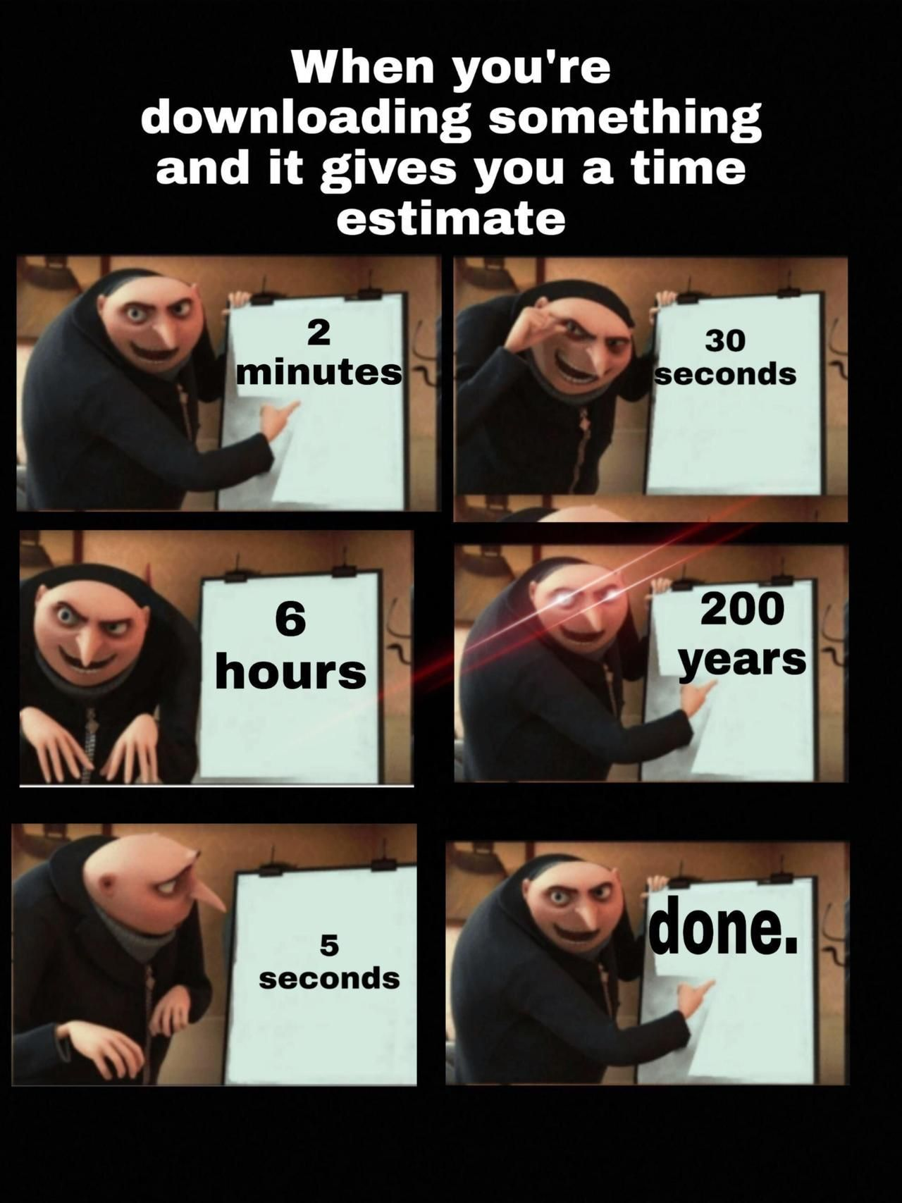 What Is The Purpose Of The Time Estimate Really Funny Memes Really Funny Stupid Memes