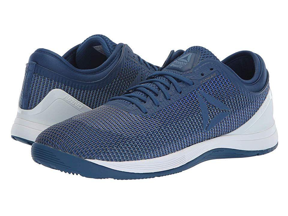 84440fa4eea Reebok CrossFit(r) Nano 8.0 Men s Cross Training Shoes Bunker Blue Vital  Blue Blue Slate Spirit White