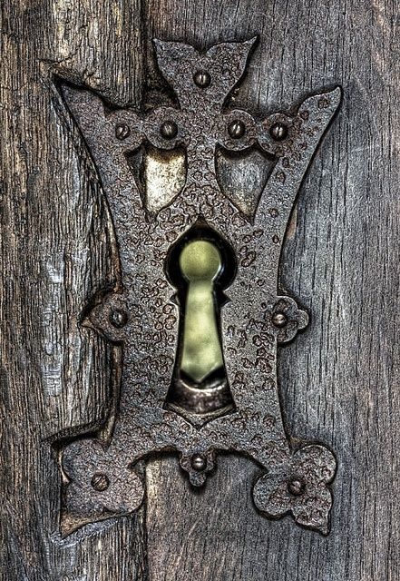 Thresholds Keyhole Portal | A Secret Garden | Doors, Door