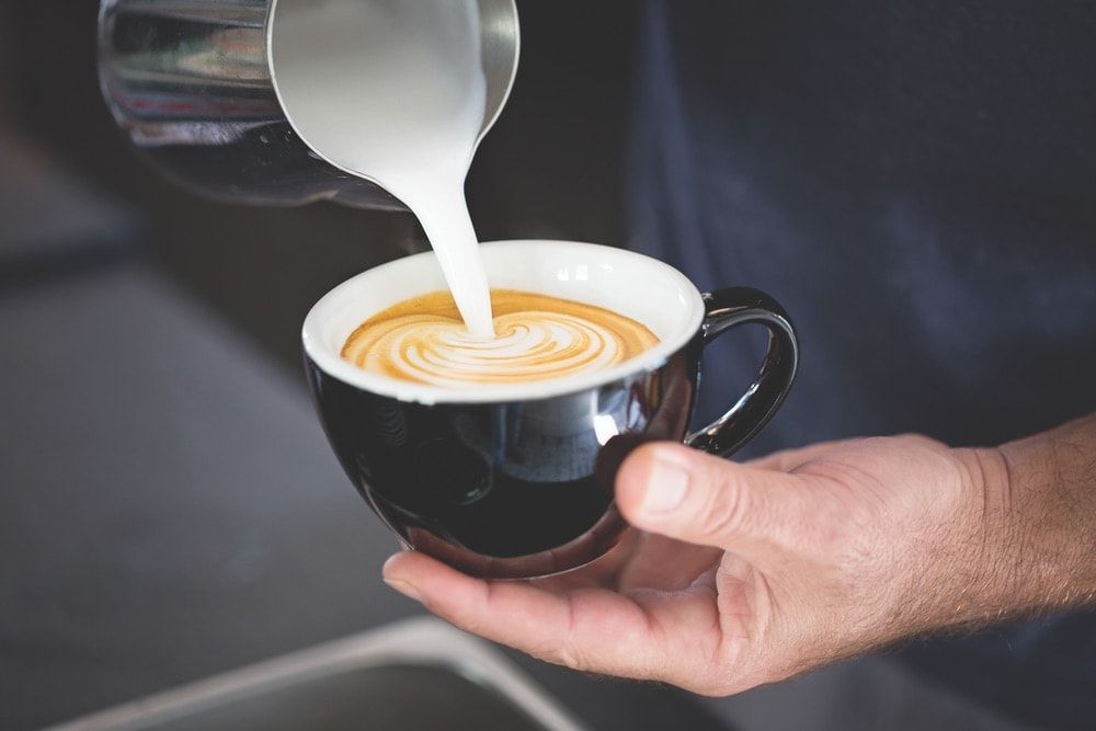 Black bear proudly serves coffee from stumptown coffee