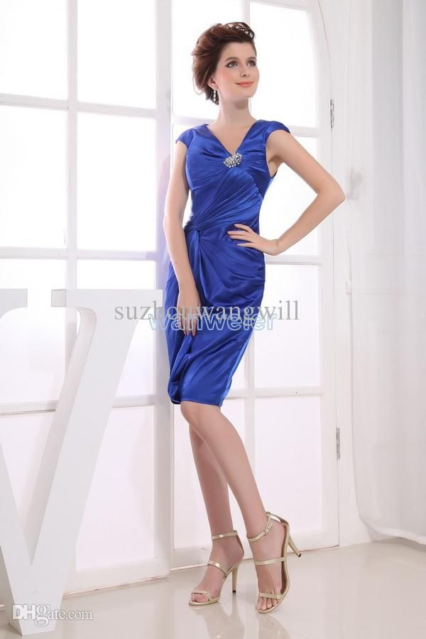 Wholesale Bridesmaid Dress - Buy Party Dress 2014 Royal Blue New ...