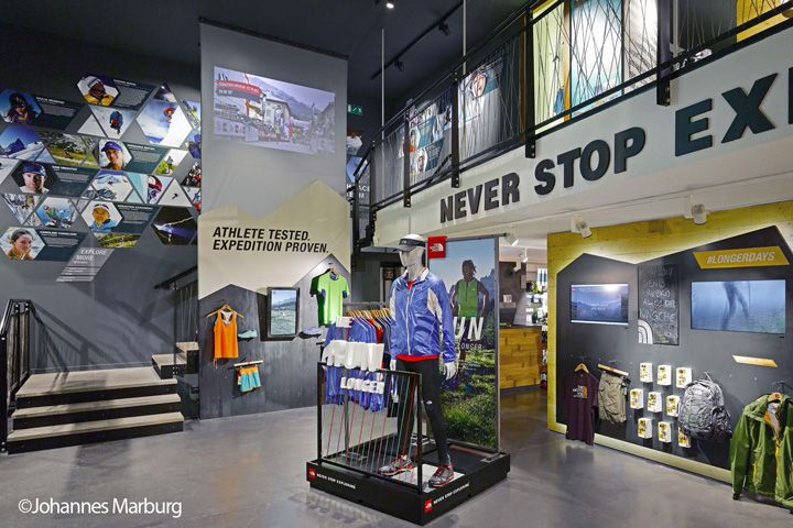 The North Face Flagship Store By Green Room Milan Italy Retail Design Blog