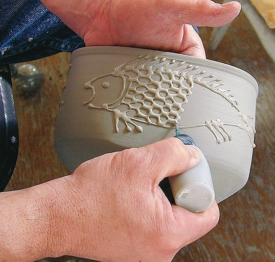 In the Studio: Marking with Liquid Clays - Ceramic Arts Network