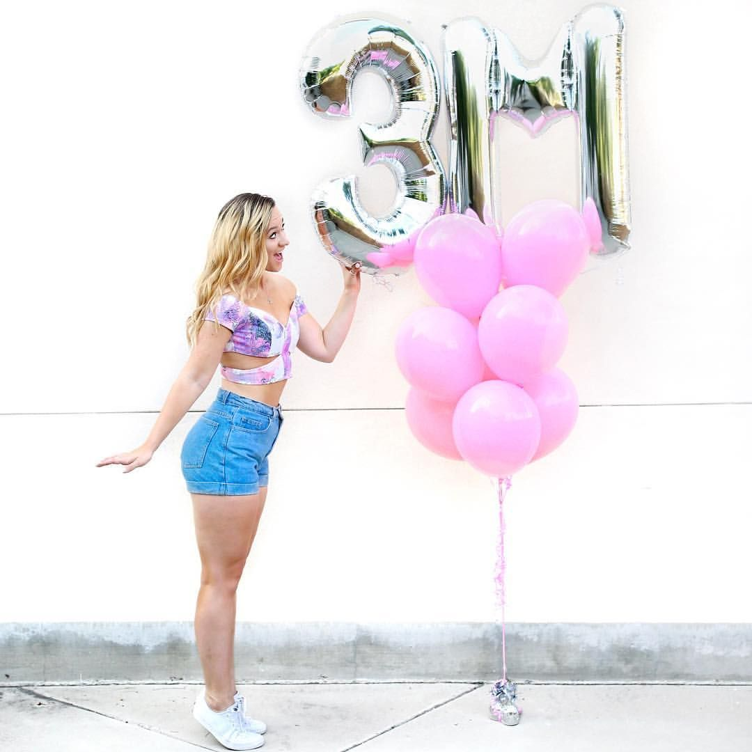 "AlishaMarie on Instagram: ""AHH!!! We hit 3MILLION subbies today!!  I love my #macbabies so so much!!! You all mean the WORLD to me!!! Our family is growing so much! Thank you for allowing me to just be my awkward self. I love you and I can never thank you enough for all the opportunities you've given me!! ✨"""