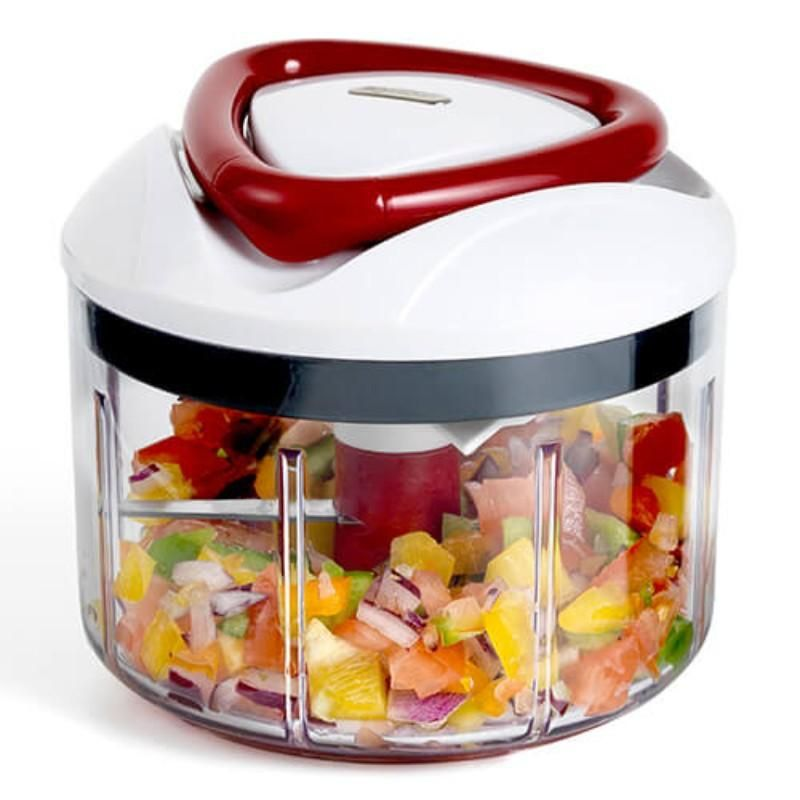 Buy zyliss easy pull food processor potters