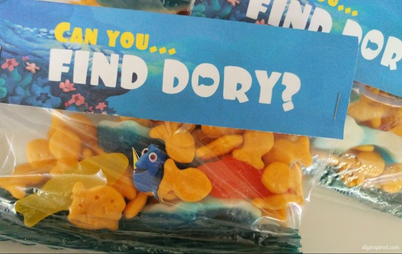 Can You Find Dory Treat Bags