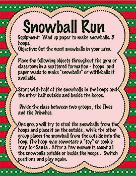 Photo of Christmas PE and Classroom Party Games
