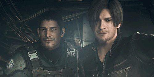 Chris Redfield And Leon Scott Kennedy In Resident Evil Vendetta