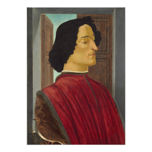 #Portrait of Giuliano de #Medici by #Botticelli #Invites