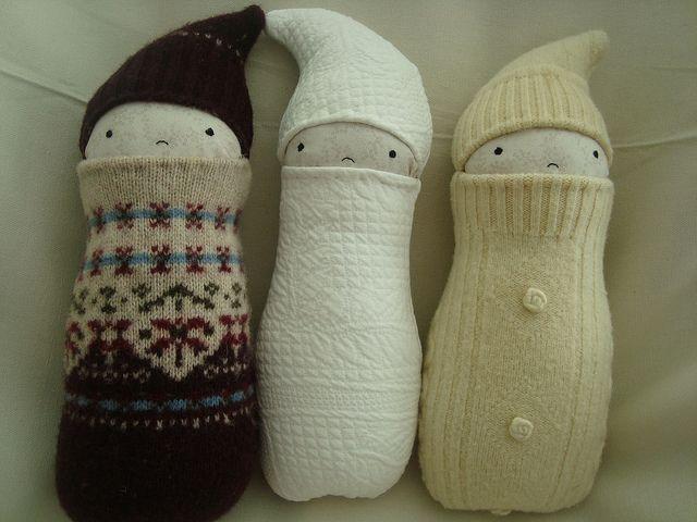 Wool Babies by whosies, via Flickr