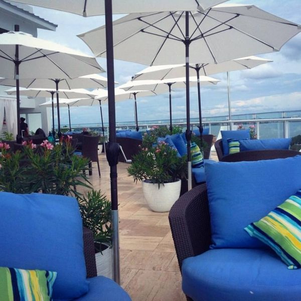 St Pete Beach Restaurants Level 11 Rooftop Lounge Bistro Bar Grand Plaza Hotel Beachfront Resort Florida