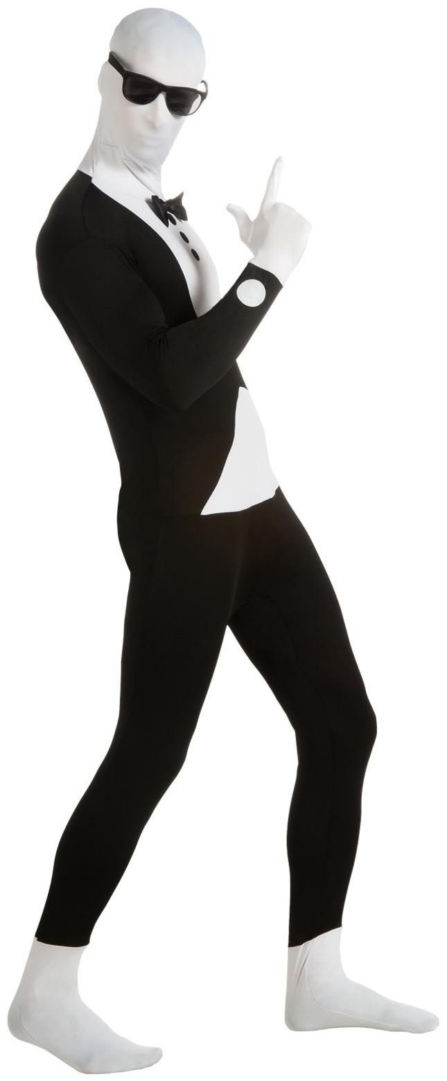Tuxedo Second Skin Adult Costume