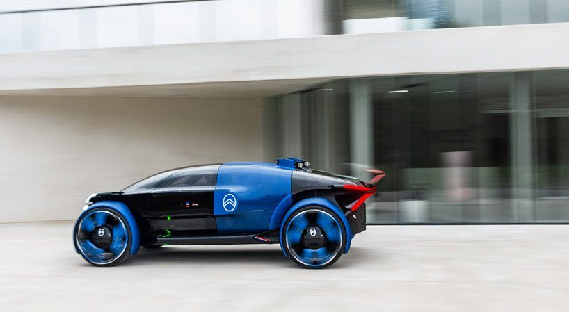 Citroen Celebrates Centenery With Helicopter Inspired 19 19 Concept Car Concept Cars Concept Car Design Futuristic Cars