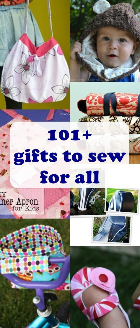 101+ AWESOME Gifts to Sew for Everyone | Sewing patterns, Easy and ...