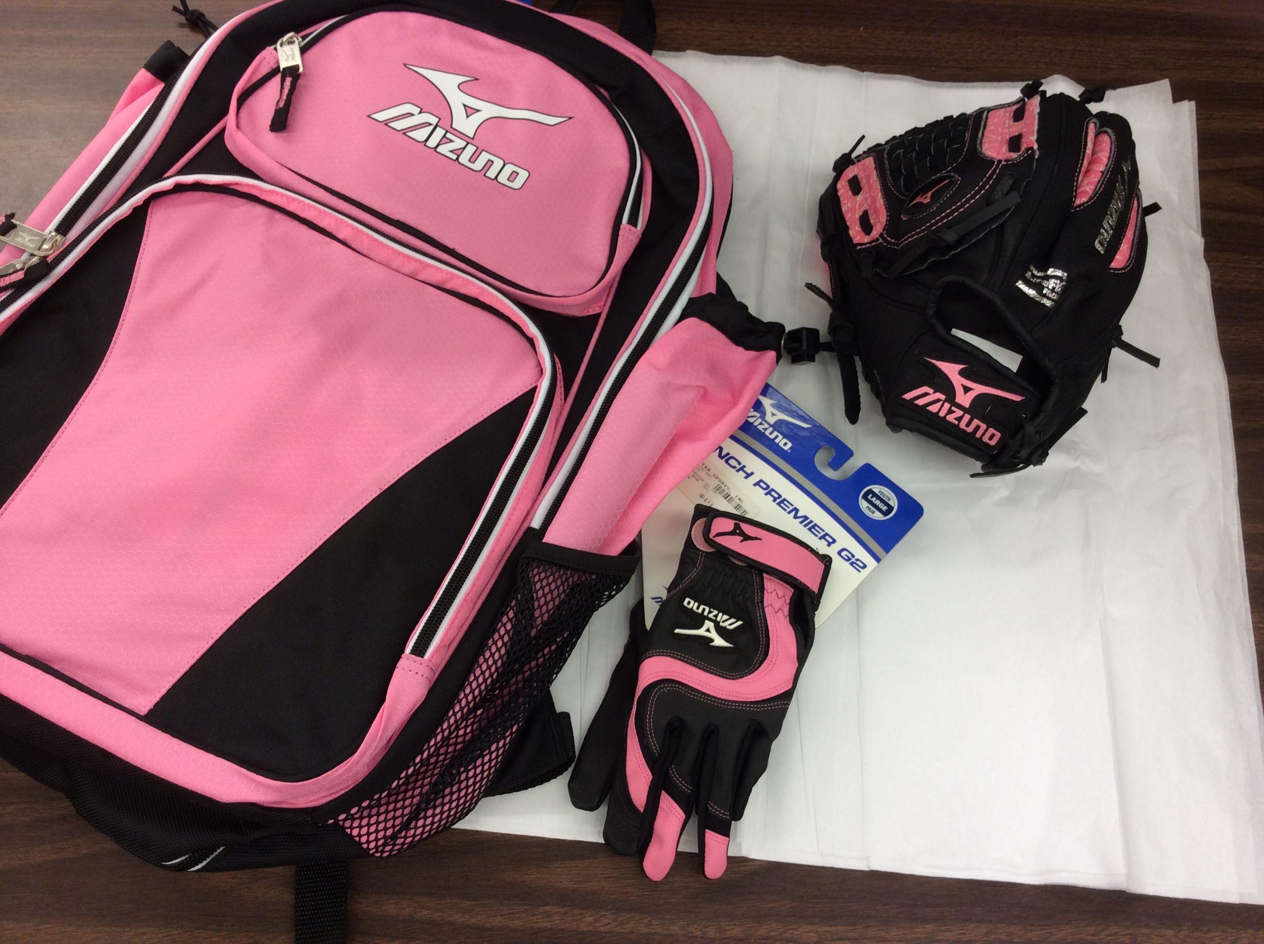 Mizuno Softball Gear S Pink Bag
