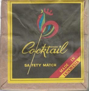 Cocktail Safety Match Made In Indonesia Sejarah Periklanan Poster