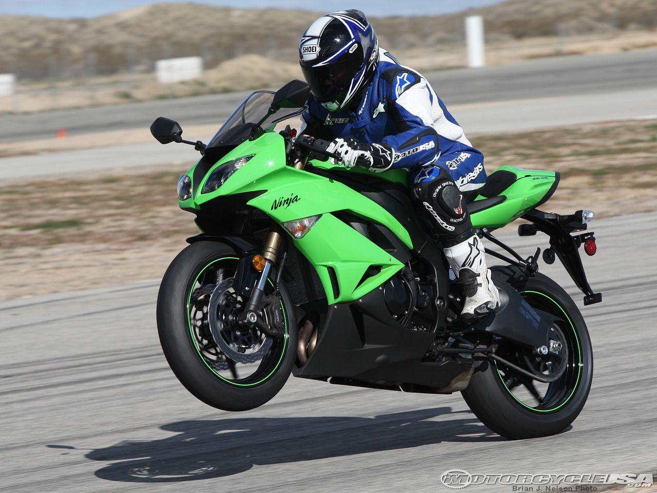 my dream bike. the kawasaki ninja in my favorite color :) | motos