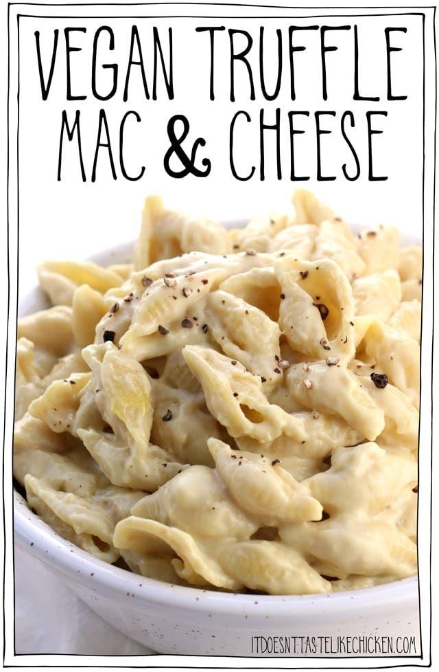 Vegan Truffle Mac and Cheese!