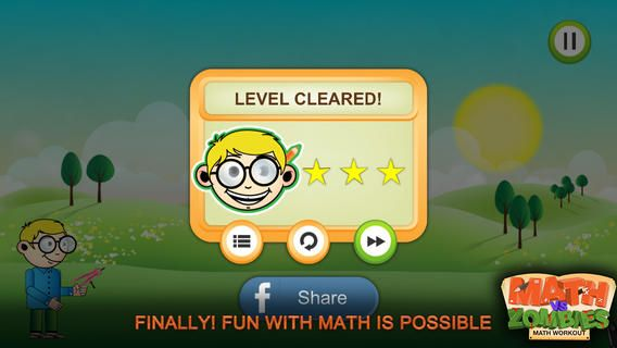 Math Vs Zombies Fun And Cool Educational Game For Kids