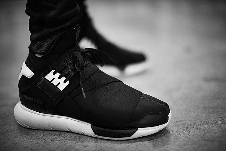 first rate 3b353 5f30c Adidas Y-3 Qasa High Black. Available now. http   ift