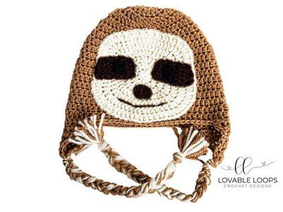 fa9344cf1d4 Free Sloth Hat Crochet Pattern