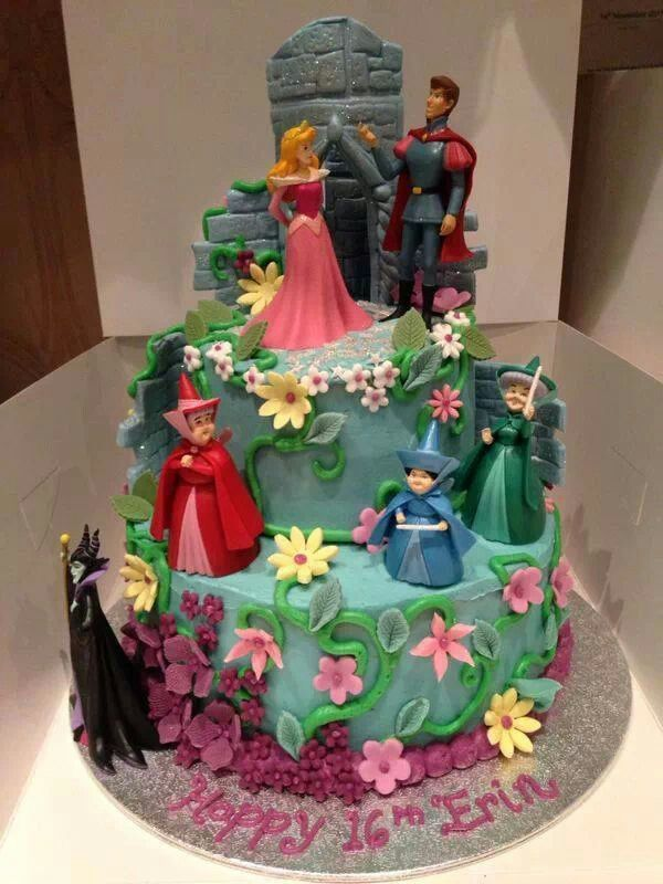 Sleeping Beauty Cake With Images Sleeping Beauty Cake Aurora