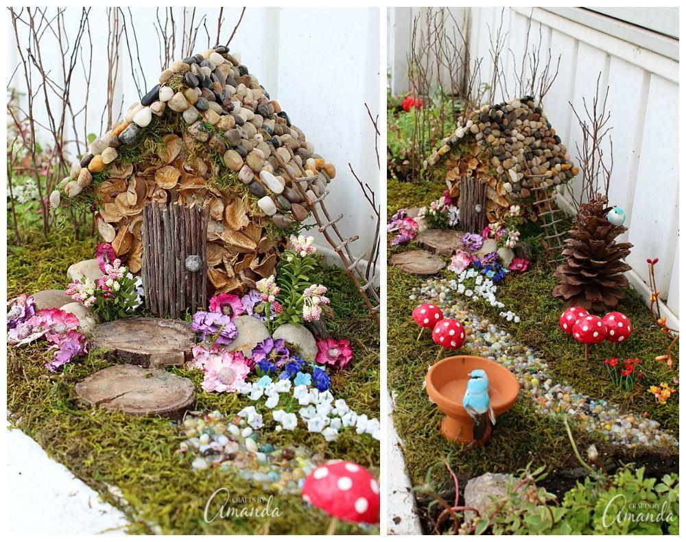 Small Of Outdoor Fairy Garden